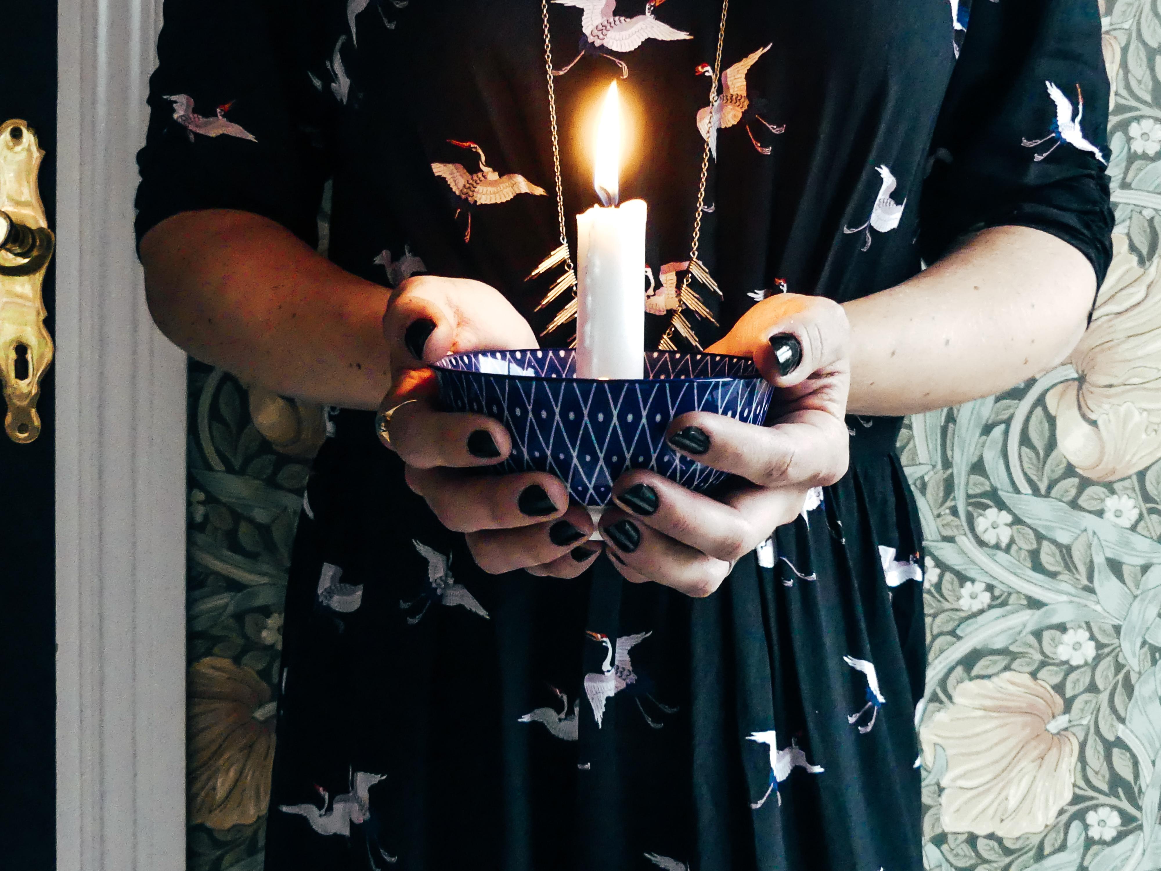 DIY – Bygg ljusstakar av gammalt porsin