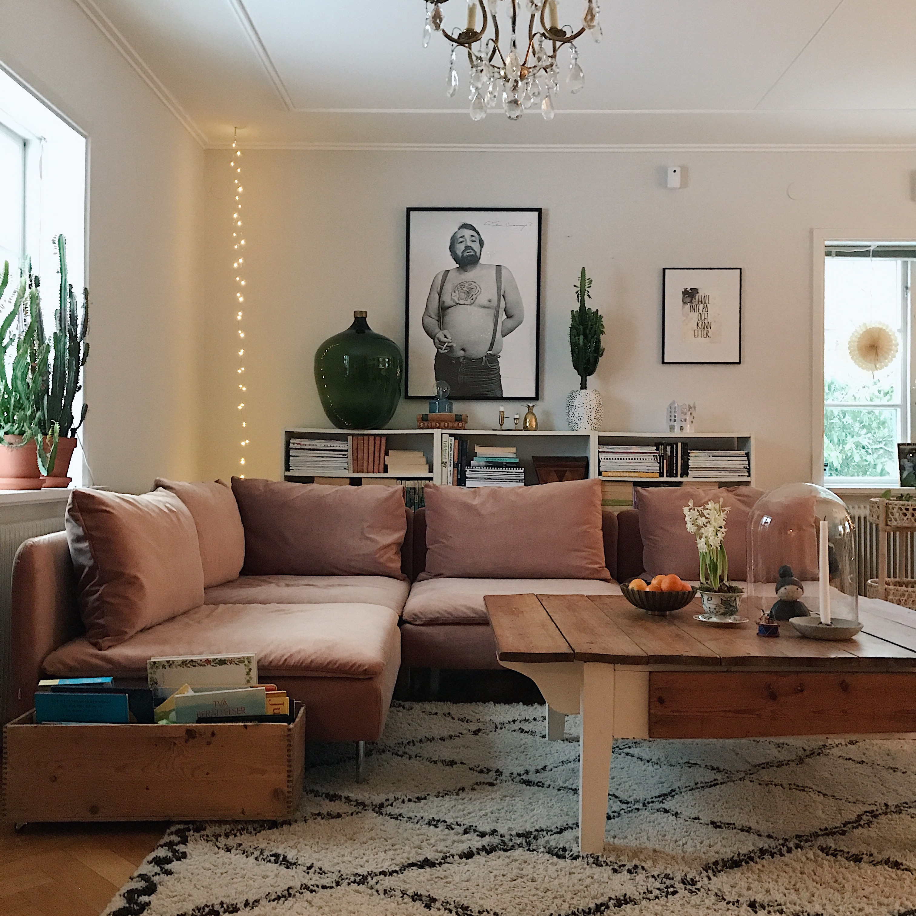 vår soffa i nytt fodral! – elfvinggården